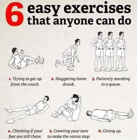 6 EASY EXERCISES